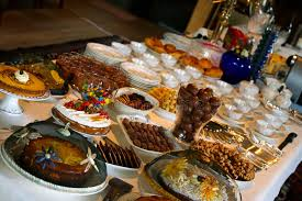 table full of food table full of delicious food stock image image of delicious