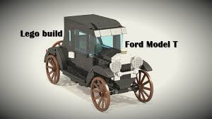 lego ford truck lego build ford model t moc ldd instructions youtube