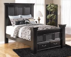 Ashley Greensburg Bedroom Set Signature Design By Ashley Cavallino Queen Mansion Poster Bed With