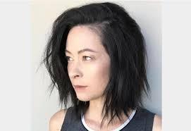 coupe de cheveux moderne coupe de cheveux carre mi femme coiffure moderne avec une
