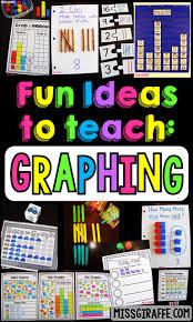 miss giraffe u0027s class graphing and data analysis in first grade