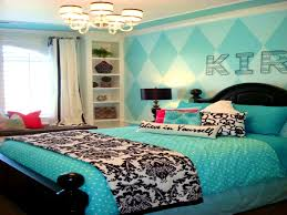 apartments winning black and white turquoise bedroom room