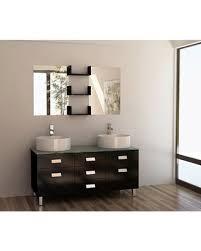 55 Bathroom Vanity Amazing Deal On Design Element Wellington 55 Inch Sink