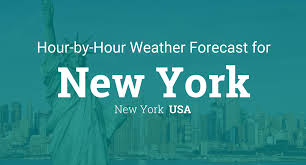 us weather map hourly hourly forecast for new york new york usa
