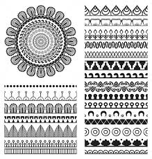 mandala ornament and borders by visnezh graphicriver