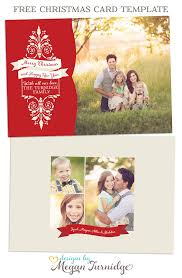 free christmas card template free layered psd and tif files for
