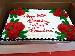 birthday cake shop 80th birthday cake for my grandmother with strawberry and