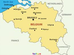 cities map belgium map blank political with cities new zone at of