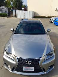 lexus is250 f sport front lip pics of my new roof vinyl wrap black gloss is250 f sport