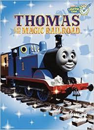 thomas magic railroad coloring book super coloring