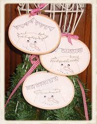 frosty friends ornaments plumcute designs