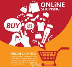 design poster buy online shopping promotion poster free vector in adobe illustrator ai