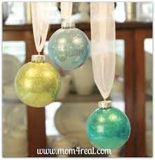 glitter filled glass ornaments tutorial 4 real