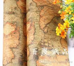 birch wrapping paper vintage world map gift wrapping paper birthday wedding favor
