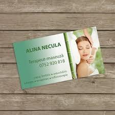 massage business cards card design ideas