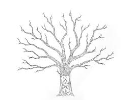 Wedding Trees Large Wedding Tree Guest Book Customizable Original Drawing