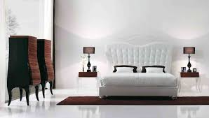 Walnut And White Bedroom Furniture Elegant Classical Lamp And Chic Side Table For Fancy White Vintage