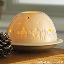 belleek living santa snowglobe decorations belleek