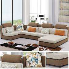 canap tissu beige canapé moderne en tissu beige foncé salon meubles maison le meilleur