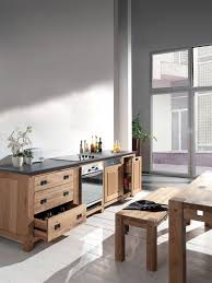 cuisine contemporaine en bois cuisine contemporaine moderne chic urbaine côté maison