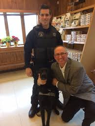 Cape Cod Dog Ypd Gives Thanks For Helping Hand With K9s