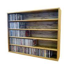 sold locking media storage cabinet oak u0026 black