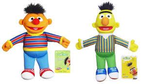 amazon com playskool sesame street pals bert and ernie 10 inch