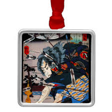 japanese samurai ornaments keepsake ornaments zazzle
