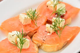 house canape house smoked salmon and feta cheese canape picture of kemby s