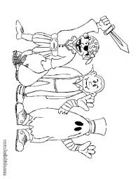 halloween costume coloring pages dilber