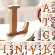 10x1 5cm thick wood wooden letters alphabet diy bridal wooden alphabet letters ebay