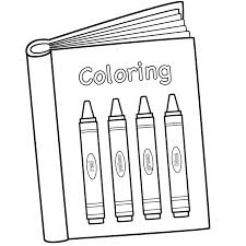 Coloring Bookr Coloring Clipart Pencil And In Color Markers Books Coloring Page