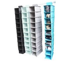 shoe rack hanging tusk college storage hanging shoe shelves storage closet