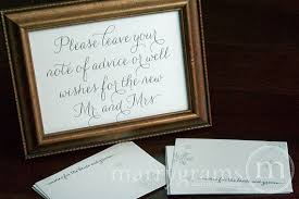 advice cards for and groom wedding guest book alternative well wishes for the groom