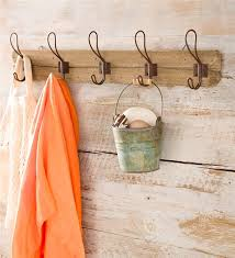 recycled wood wall mount coat rack in indoor problem solvers