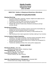 Warehouse Sample Resume by Bright Ideas Shipping Clerk Resume 3 Shipping Clerk Resume Sample