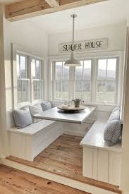 Buffalo Home Decor Built In Breakfast Nooks Ten June A Farmhouse Buffalo Check Built