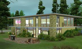 mid century modern house plans houseplans com 1950s luxihome mod the sims mid century modern mts fergie f 1342 1950s mid century modern house plans