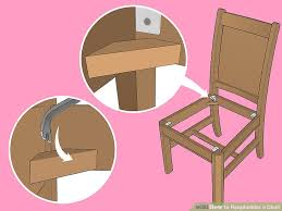 How Much Does It Cost To Reupholster A Chair The Best Way To Reupholster A Chair Wikihow