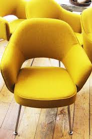 Eero Saarinen Executive Armchair Yellow Vintage Eero Saarinen Chairs Hudson River Living Room
