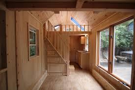 ladder vs staircase tumbleweed houses 8x16 cross gable tiny house