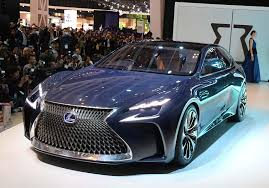 future lexus cars lexus lf lc concept offers a look at luxury brand s future