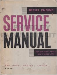 1965 ford truck repair shop manual reprint set