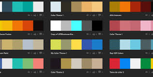 color cheme creating a color scheme stellar nine design