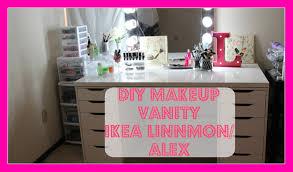 ikea makeup vanity ikea makeup vanity linnmon and alex drawers finding my makeup vanity