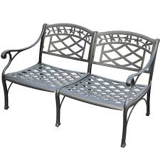 Amazoncom  Crosley Furniture Sedona SolidCast Aluminum Outdoor - Outdoor aluminum furniture