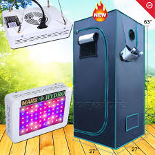kit chambre de culture led 300w led grow light veg flower plant 27 27 63 indoor grow