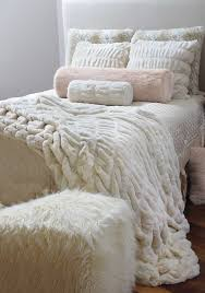 Restoration Hardware Faux Fur All The Untamed Luxury Of Arctic Fox Fur Is Yours With Bedding