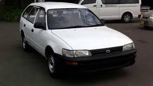 1995 toyota corolla station wagon toyota corolla dx sold to myanamr