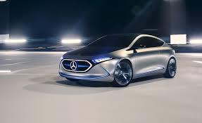 mercedes concept car mercedes benz concept eqa photos and info news car and driver
